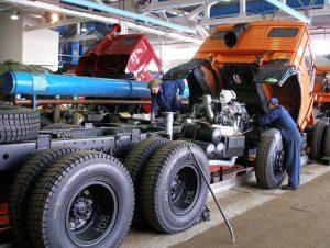 Обслуживание КамАЗа 5320