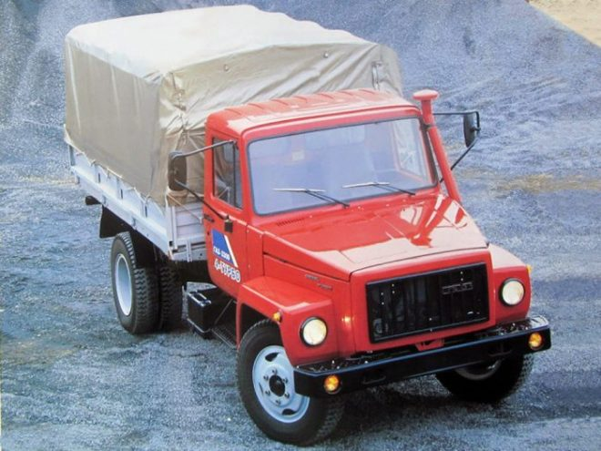 Обзор технических характеристик ГАЗ-3309