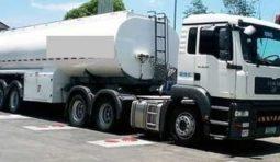 Перевозка дизельного топлива, бензовозами MAN