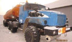 Перевозка топлива бензовозами Урал-44202 тягач