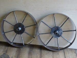 Самодельные колёса для картофелесажалки