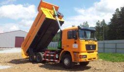 Самосвалы SHACMAN (ШАКМАН) для вывоза мусора