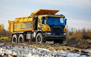 Самосвал Scania P400