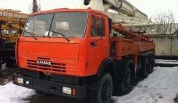 Спецтехника бетононасос КАМАЗ 32м