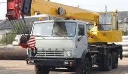 Спецтехника кран 16 тонн Галичанин