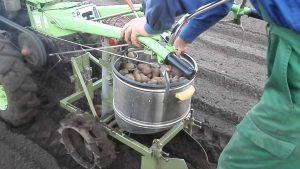 Автоматизированная картофелесажалка