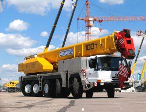Супер-автокран 100 тонн