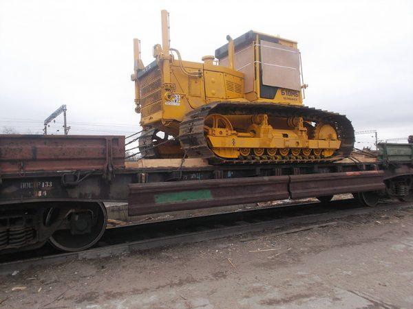 Транспортировка бульдозера Т-170