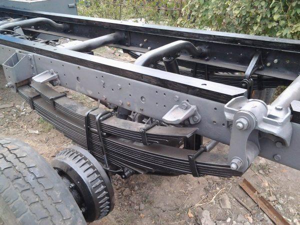 Удлинение рамы автомобиля ЗИЛ-5301