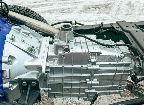 Усовершенствованная коробка передач автомобиля ГАЗон Next