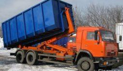 Вывоз мусора. Бункеры Пухто 15-27 куб.Контейнер 8 куб