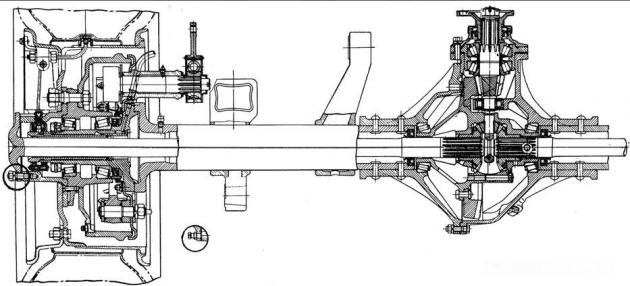 Задний мост ЗИЛ-157