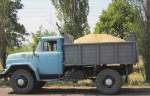 Зил-130 с песком