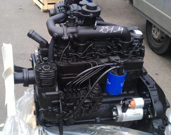 Фото усовершенствованого двигателя ММЗ Д-245.12С ЗИЛа-5301