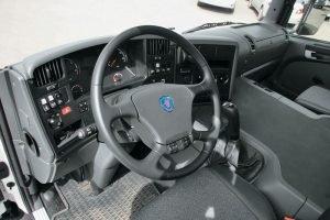 Двухместная кабина Scania P380