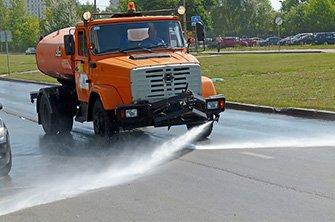 Аренда поливомоечной машины в Санкт-Петербурге