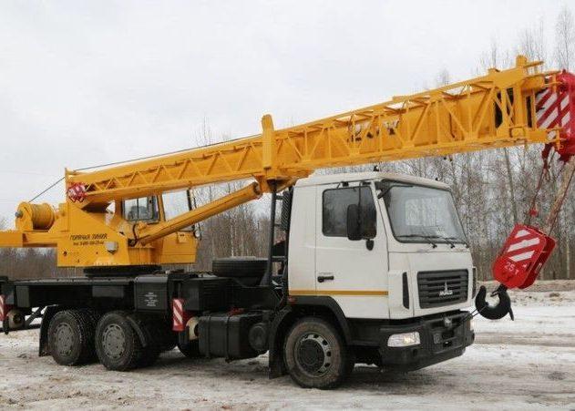 Автокран Галичанин КС-55713 на шасси МАЗ