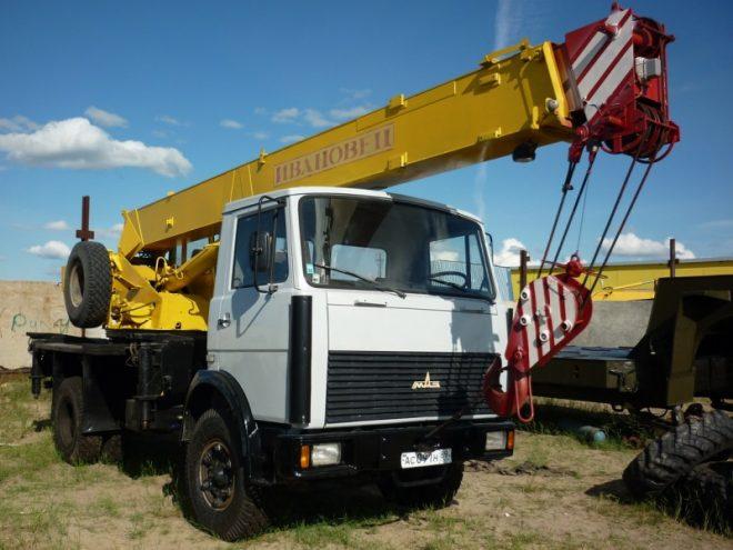 Автокран КС-35715 Ивановец 16 тонн