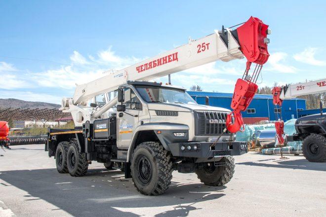 Автокран КС-45721 Челябинец