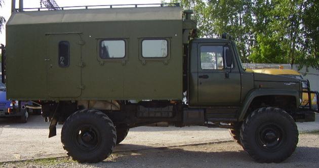Автомобиль ГАЗ 33081 для использования в армии