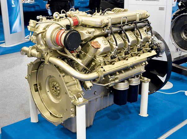 Дизельный двигатель КАМАЗ-740.75-440