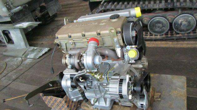 Дизельный двигатель STEYR M14