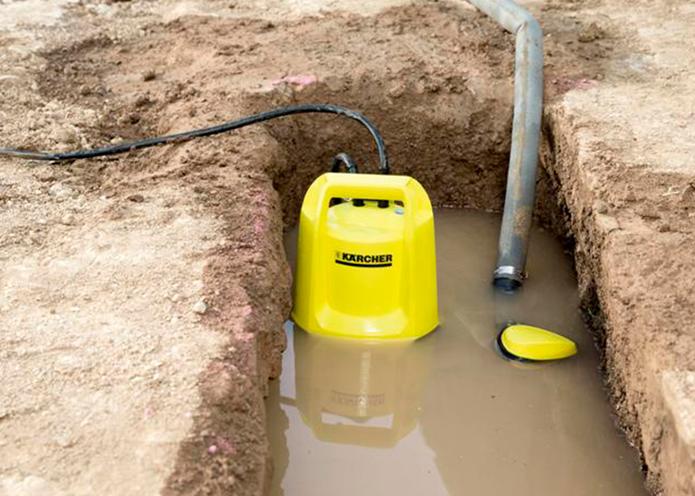 Дренажный насос для грязной воды Karcher