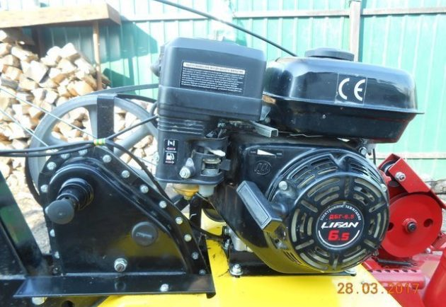 Двигатель Лифан мотоблока Целина МБ-600