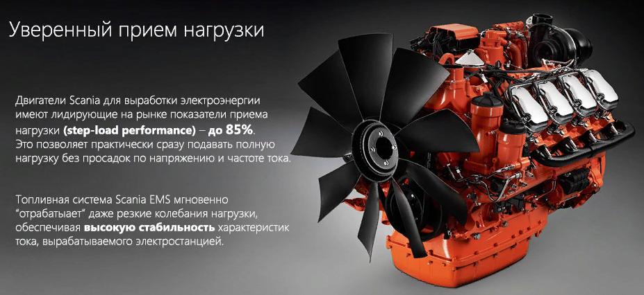 Двигатель Scania R730 3