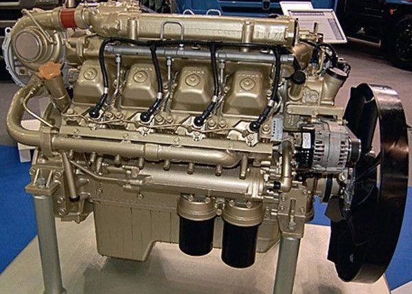 Двигатель серии 740.63-400