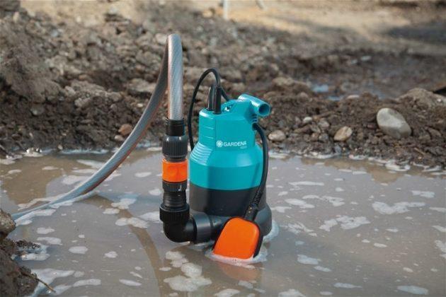 Фекальный насос для очистки воды