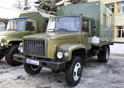 ГАЗ 33086-Земляк