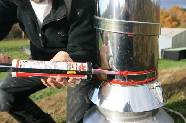 Герметизация труб