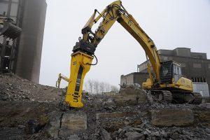 Гидромолот HB 4100 для самых тяжелых работ по разрушению