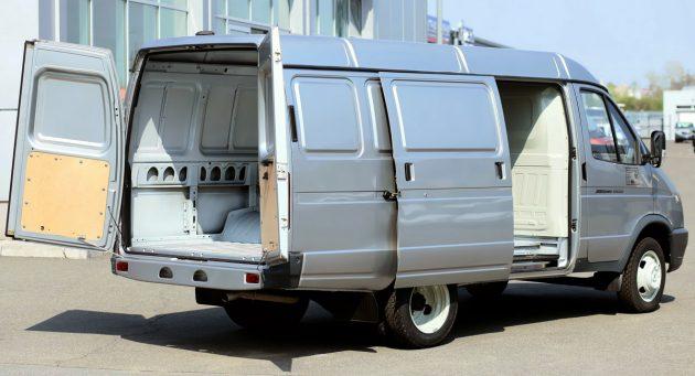 Грузовая часть ГАЗ-2705