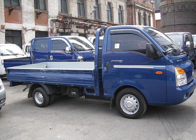 Hyundai Porter - бортовой грузовик