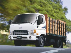 Hyundai Porter - маневренность