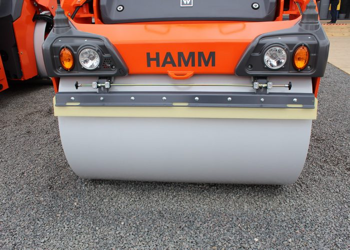 Каток Hamm 90 с гладкими вальцами