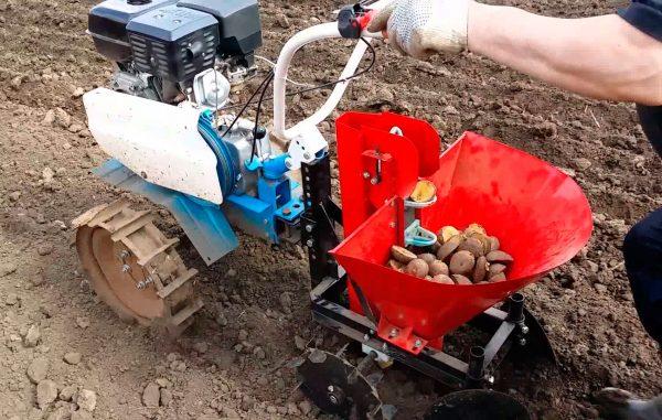 Культиватор для посадки картофеля