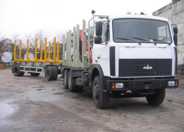 МАЗ-6303 лесовоз