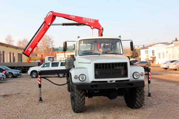 Манипулятор на шасси ГАЗ 33081