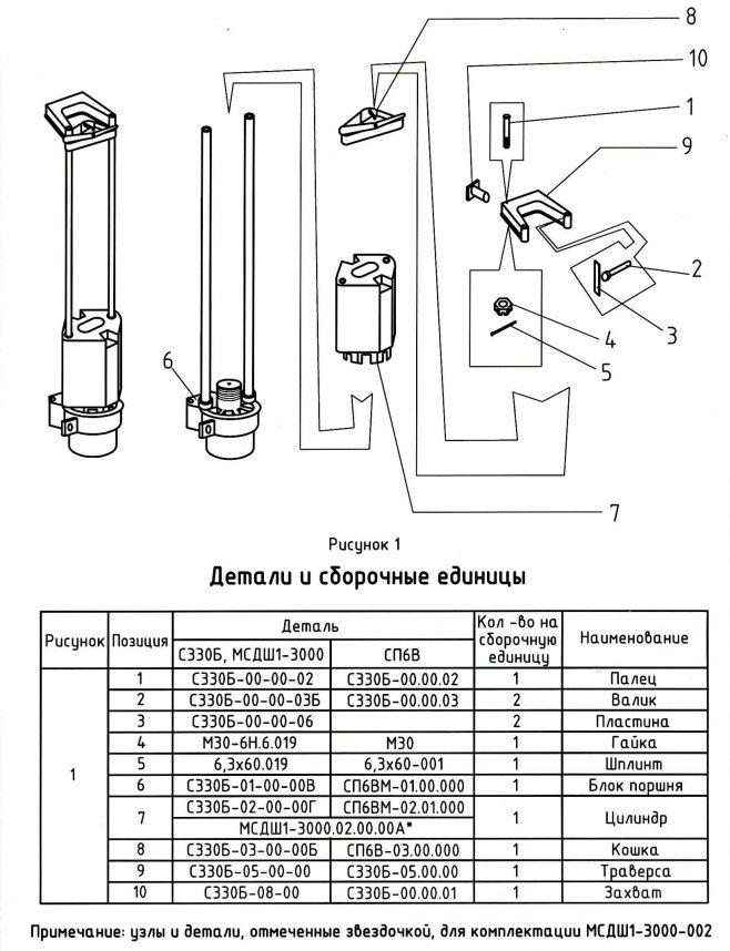 Молот сваебойный дизельный штанговый МСДШ1-3000