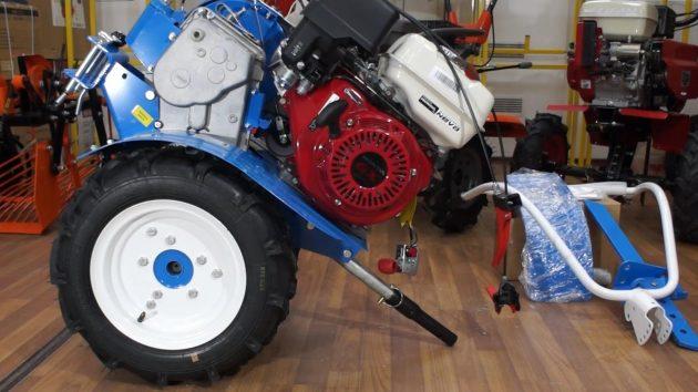 Мотоблок Нева МБ-23 с двигателем Honda GX270