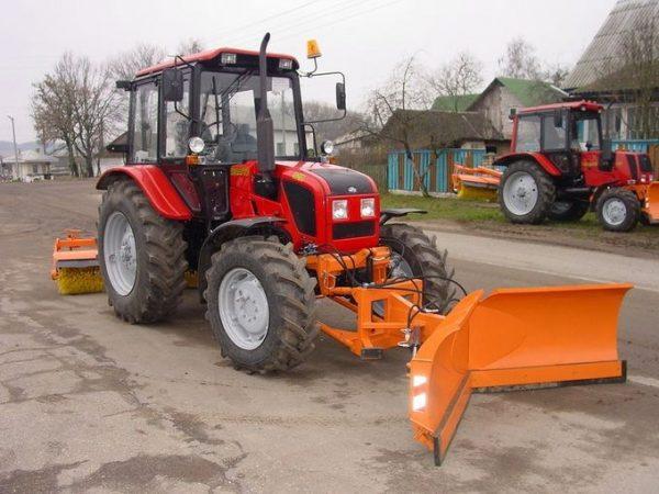 Навесное оборудование к тракторам семейства МТЗ