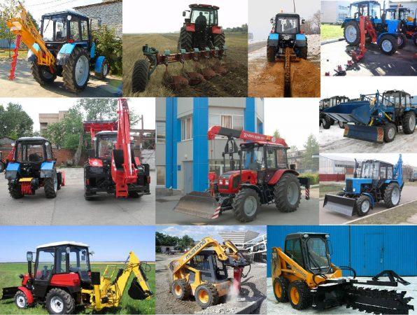 Навесное оборудование на трактор
