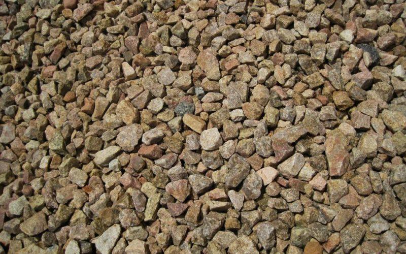 Песчаниковый щебень