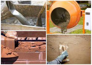 Приготовление и применение известково-цементного раствора