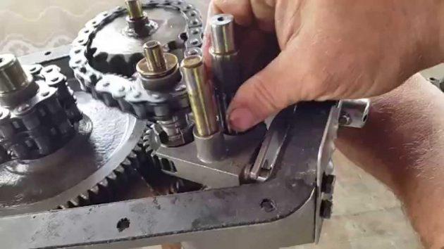 Ремонт редуктора мотоблока Каскад