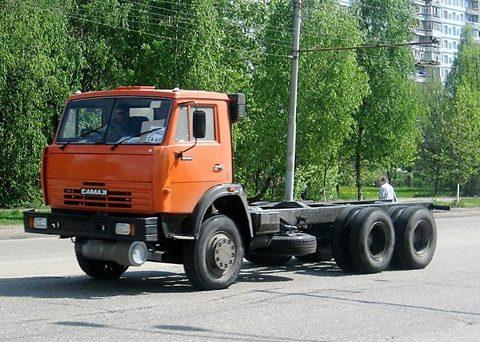 Шасси КАМАЗ 53215