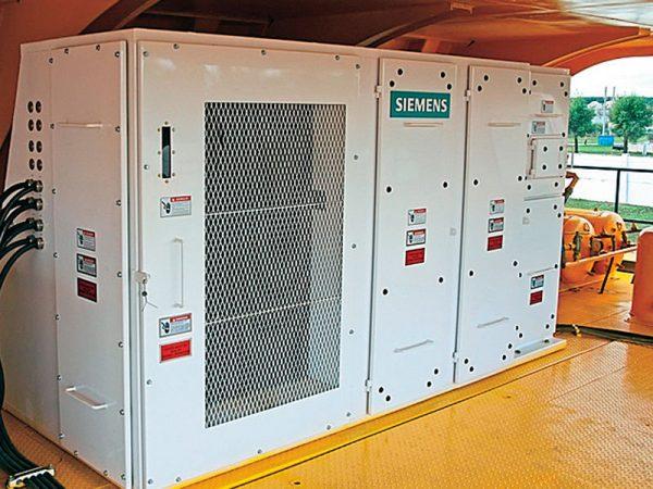 Шкаф управления электротрансмиссией